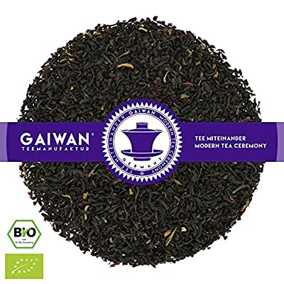 """N° 1147: Thé noir bio""""Assam Kopili River Gold Peak GBOP"""" - feuilles de thé issu de l'agriculture biologique - GAIWAN GERMANY - thé noir de Inde"""
