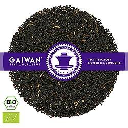 """Nr. 1147: BIO Schwarzer Tee """"Assam Kopili-Fluss Goldspitzen (GBOP)"""" - 100 g - GAIWAN® TEEMANUFAKTUR - Schwarztee aus Indien, Ohne Aroma, Loser Tee Bio, Biotee, Organic Tea"""