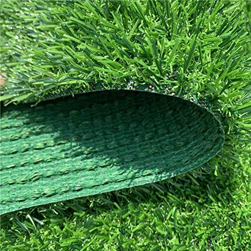 YEYE Kunstrasen Für Hunde Pee Pads,20mm Premium 4 Ton Welpen Töpfchen Training Einfach Zu Reinigen Mit Abflusslöchern Gefälschte Rasen Hundematte-grün 200x200cm(79x79inch) (Welpe Gras Pad)