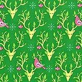 Michael Miller Weihnachtsstoff, festlicher Wald, 1 x