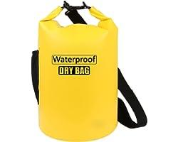 AILGOE Waterproof Bag 5L/10L/15L/20L/25L/30L/40L,Lightweight Dry Bag With long adjustable Shoulder Strap Perfect for Drifting