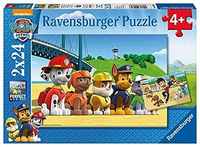 Paw Patrol - Puzzle, 2 x 24 piezas (Ravensburger 09064 8) de Ravensburger