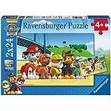 Ravensburger - 9064 - Lot de 2 Puzzles - Chien Héroïque Pat Patrouille - 24 Pièces