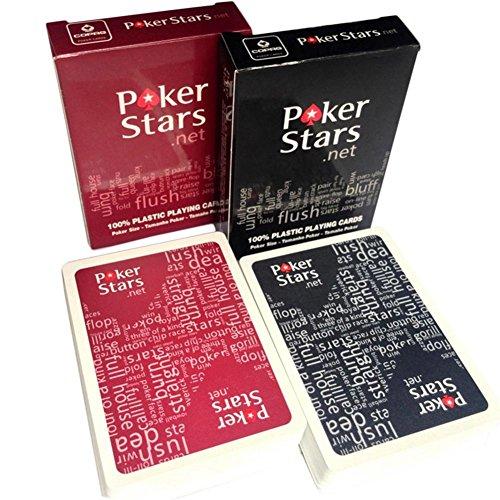 Haodene 2 Barajas De Cartas De Póker De Plástico Profesionales - 54...
