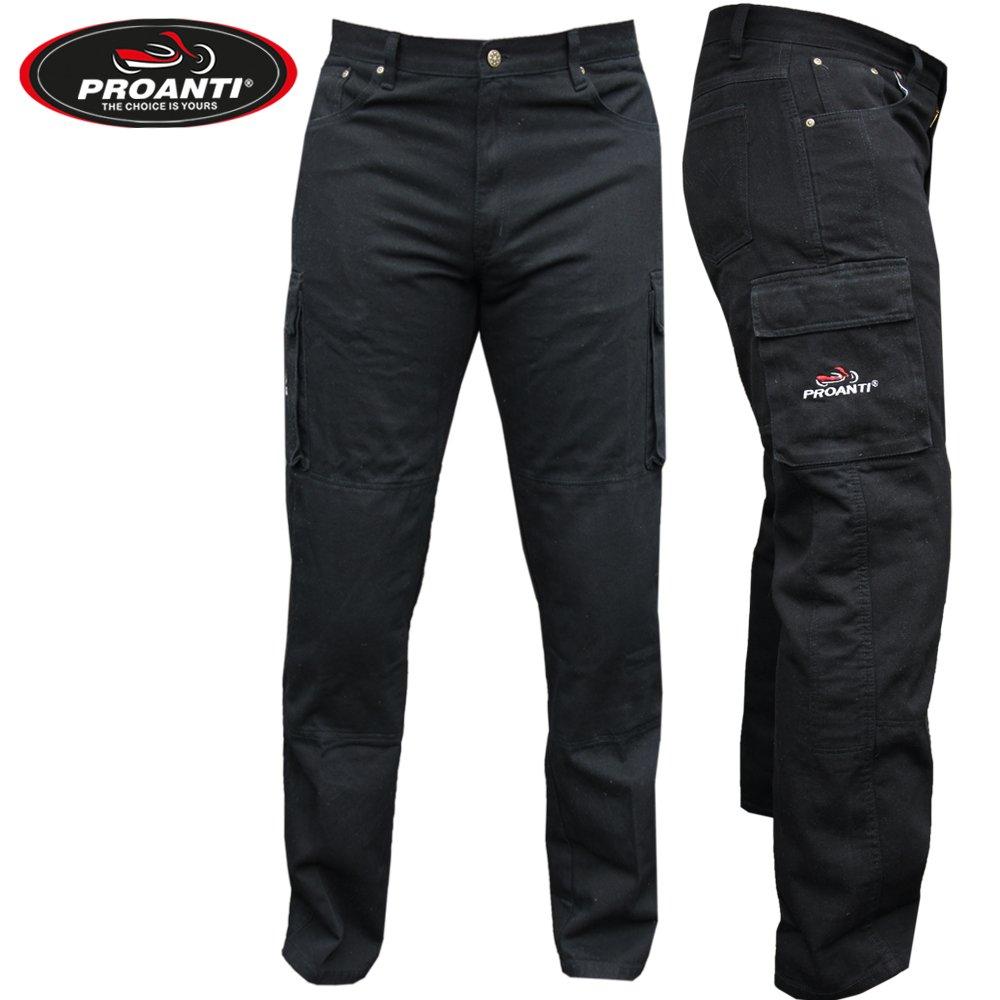 Motociclo Pantaloni Jeans Aramid motociclo Pantaloni Jeans Con Protezioni di Proanti®, Uomo Donna