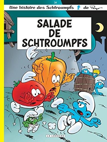 Les Schtroumpfs Lombard - tome 24 - Salade de Schtroumpfs