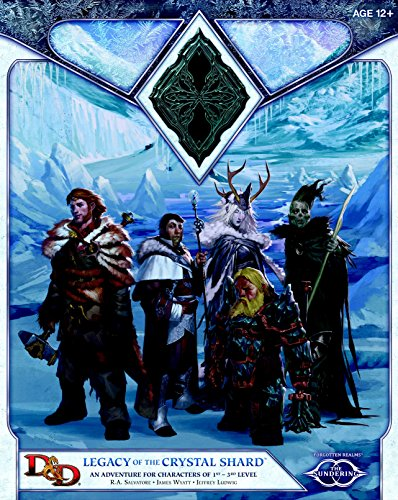 Legacy of the Crystal Shard (Dungeons & Dragons: The Sundering) por R. A. Salvatore