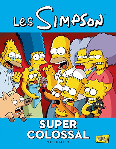 Les Simpson - Super colossal, Tome 2 : par Matt Groening