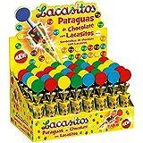 Paraguas Chocolate con Lacasitos - 40 Unidades