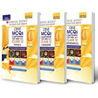 Oswaal CBSE MCQs Chapterwise Question Bank For Term I & II, Class 12 (Set of 3 Books) Physics, Chemistry, Mathematics…