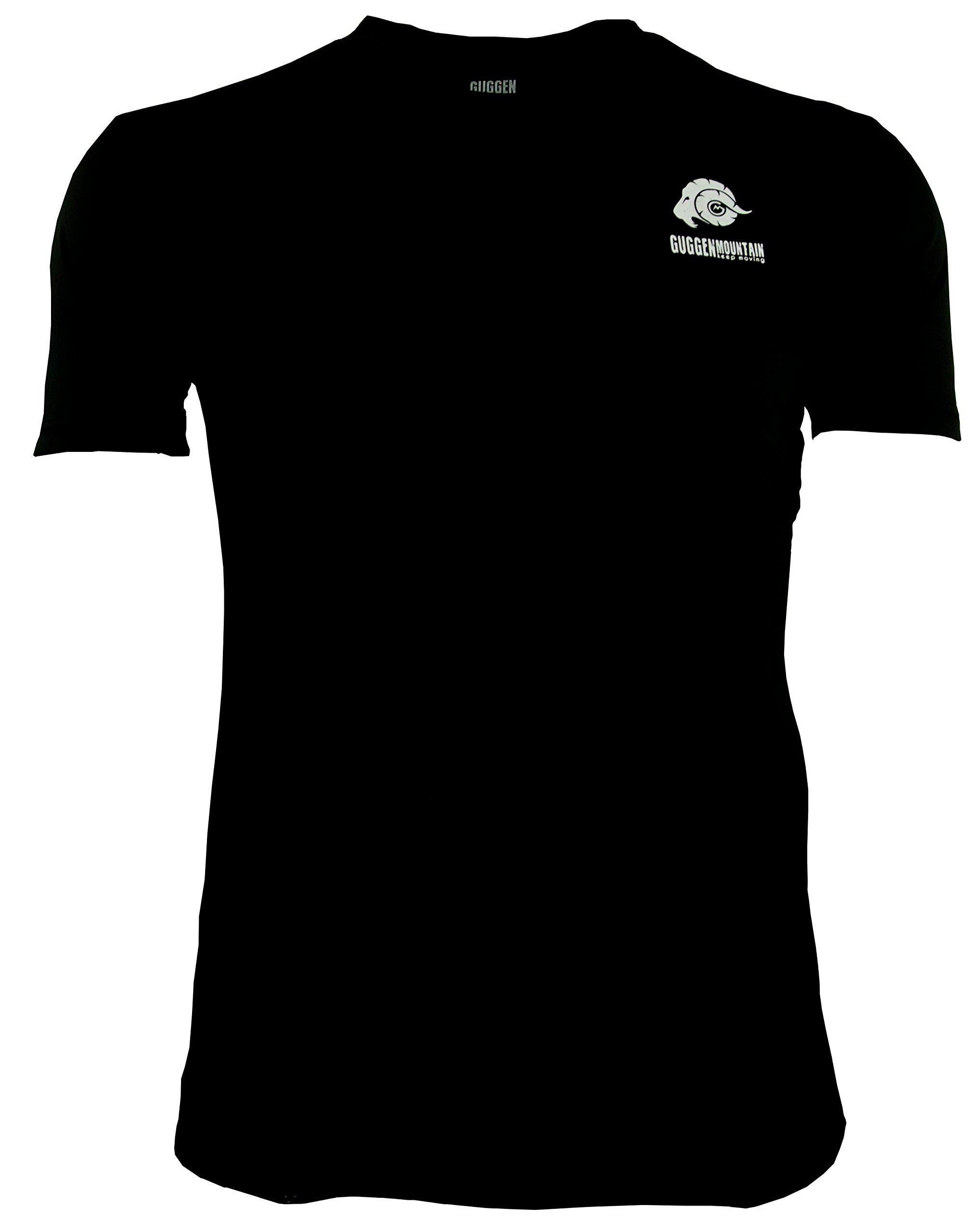 GUGGEN Mountain Herren Funktiosshirt Funktionswäsche Funktions T-Shirt Sport Outdoor Aktivitäten Schnelltrocknend...