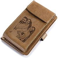 Portafoglio Donna Portafoglio Personalizzato con Foto Portafoto in Pelle con cerniera RFID da donna lungo Portafoglio…