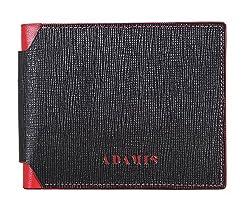 Adamis Leather Mens Wallet W244 In Black