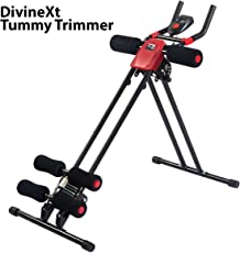 DivineXt Abs Tummy Trimmer With Single Steel Spring Burn Off Calories & Tone Your Muscles Ab Exerciser