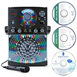 Singing Machine SML385 Karaoke Equipment with Bluetooth 1 Microphone and 36 Current Tracks