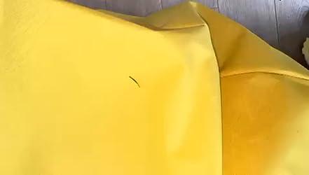 XL, antracite XL GlueckBean Gamer XXL per interni ed esterni Pouf a forma di pera impermeabile XL XXXL con imbottitura in polistirolo EPS