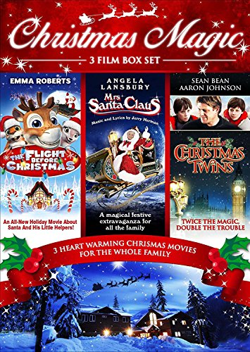 Christmas Family Boxset (3 Discs - Flight Before Christmas, Mrs Santa Claus & The Christmas Twins) [DVD] [UK Import]