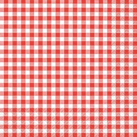 20-serviettes-33-x-33-cm-rouge-a-carreaux-blanc-vichy-carreaux-garden-party