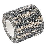 Zhuhaimei,Imprägniern Sie Vlies-Klebeband des Camouflage-4.5M im Freien(Color:ACU Camouflage)