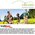 6A Schnell- Ladegerät für E-Bike Vision Powerpack Akkus passend zu Panasonic 26V Antrieb - NEUESTE VERSION (für Flyer / Kalkhoff / Kettler / Raleight / Victoria / uvm.) - Kraftmax Edition