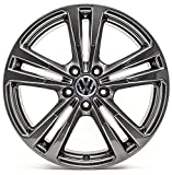 VW Touran 1T 18 Zoll Rline Alufelgen Original Audi OE OEM Felgen 8V-AJ/BL (Titan (anthrazit) glanz)