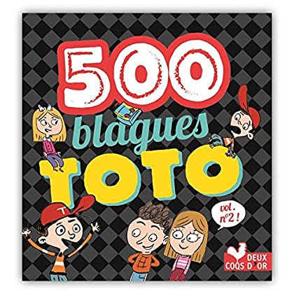 500 blagues de Toto vol 2 (Livres de blagues)
