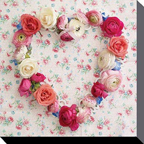 Corazones - Corazón Romantico De Flores
