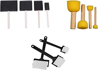 ArtBee Sponge Brush Ser for Painting, Art and Craft Projects