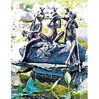 """Heissner 003287–00 Wasserspeier""""Froschkonzert"""", 40cm"""
