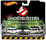 #9: Hot Wheels, Classic Ghostbusters Ecto 1 And Ecto 1 A Die Cast Vehicle 2 Pack