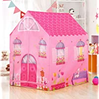 MANSHI FAB Hut Type Kids Toys Jumbo Size Play Tent House for Boys and Girls ( Multi Color ) (Baby REBIT)