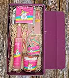 Einhorn Geschenke für Frauen - Geschenkset mit Alkohol - Geburtstagsgeschenke für Frauen, Einhorn Sachen zum verschenken, Süssigkeiten und Feinkost für alle Einhorn Fans