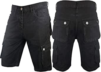 Men`s Cargo Denim Jeans Shorts