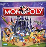 The Disney Edition Monopoly Board Game 2001 by Hasbro