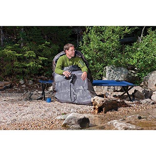 611n b84yjL. SS500  - Coleman Unisex Big Basin Sleeping Bag, Green