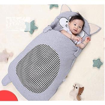 Infant Sleeping Bag Cartoon Renard Taille 85 cm (0-12 Mois) sac de couchage  enfant coton sac de couchage bébé couette bebe vêtements pour enfants  Anti-kick, ... 3534c2e0264