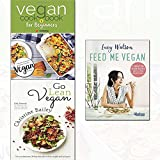 go lean vegan,vegan cookbook for beginners and feed me vegan 3 books collection set - revolutionary 30-day diet plan to lose weight and feel great,keep it delicious & simple calorie counted