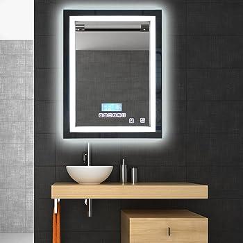Flyelf Salle De Bain Miroir Illumination Led Lampe Eclairage La