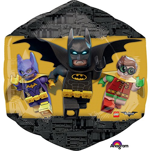 3586701 Folie Ballons/Form: LEGO Batman (Lego Batman-dekorationen)
