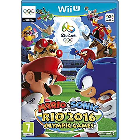 Mario and Sonic at the Rio 2016 Olympic Games (Nintendo Wii U) UK IMPORT