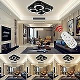 VINGO LED 48w Dimmbar Deckenleuchte Schlafzimmer Deckenlampe Angenehmes Licht