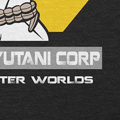 Texlab–Weyland Yutani Face Hugger–sacchetto di stoffa Nero