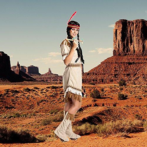 Kostumplanet Indianerin Kostum Damen Indianer Kostum Sexy Squaw