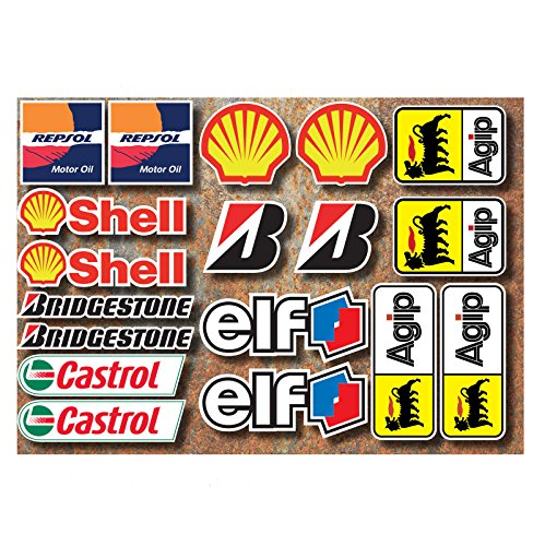 moteur-bike-race-autocollants-de-autocollants-onze-shell-repsol-bridgestone-castrol-agip-motorcycle-