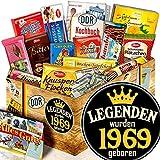 Legenden 1969 / DDR Schokolade Ostpaket / 50ten Geburtstag Geschenke