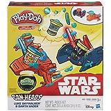 Play-Doh Star Wars Luke Skywalker vs. Darth Vader & Play-Doh Glow In the Dark Can-Heads by Play-Doh