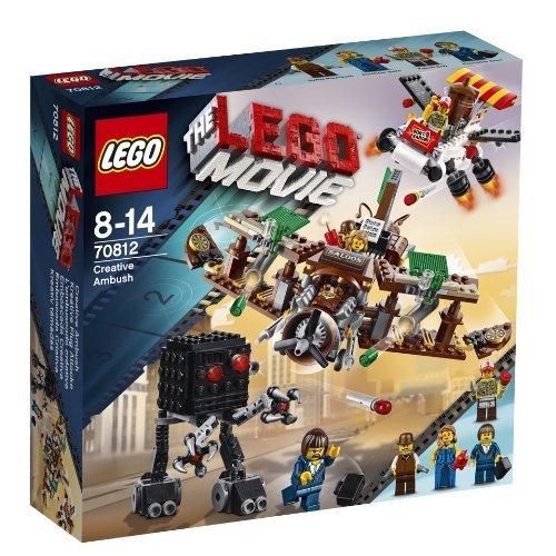 Lego movie 70812 - agguato creativo v29, include 4 minifigure
