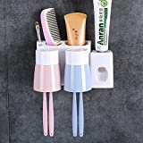 The Wall Toothpaste Cartridge Brushing Cup Kit Bluetooth A Mouthwash Cup Wash The Wall-Mount Suction Toilet Of ,09