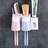 La parete della cartuccia di dentifricio spazzolatura Cup Bluetooth Kit di un colluttorio Cup lavare l'aspirazione per il montaggio a parete del wc ,09
