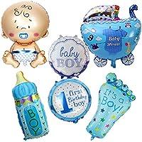 ... shower azul ideales para la fiesta de nuevo bebes decoracion de bautizos cumpleaños , en cada mesa de invitado, en la de niños, en carrito de chuches ...